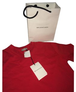 Balenciaga T Shirt Red
