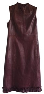 Bally Leather Leather Dress