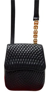 Bally Quilted Lamb Cross Body Bag