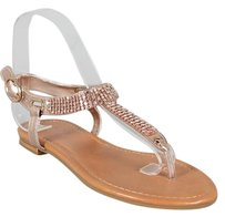 Bamboo Rosegold Sandals