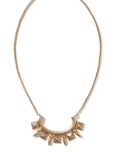 Banana Republic Banana Republic Delicate Pyramid Necklace