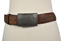 Banana Republic Banana Republic Womens Brown Studded Belt Casual Leather
