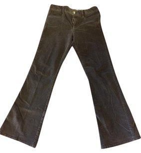 Banana Republic Boot Cut Pants dark brown cords