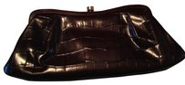 Banana Republic Leather dark brown Clutch