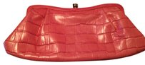Banana Republic Leather pink Clutch