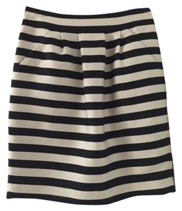 Banana Republic Skirt Black and off-white