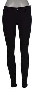 Banana Republic Skinny Ankle Womens Black Cotton Pants Colored Skinny Jeans