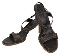 Banana Republic Stappy Leather Brown Sandals