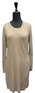 Banana Republic short dress Tan Heritage Textured Sweater Wool Blend Sma9358 on Tradesy