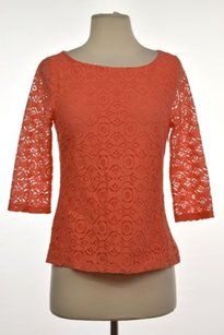Banana Republic Womens Top Coral Orange