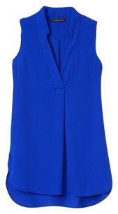 Banana Republic Top Neon Cobalt