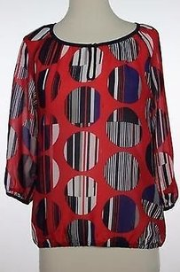 Banana Republic Womens Top Red