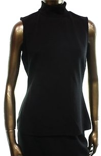 Bar III Black Womens Back Top Blacks