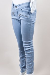 Barbara Bui Light Blue Cotton Skinny Jeans