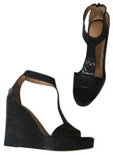 Barneys New York Black Wedges