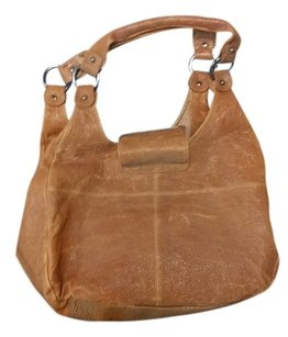 BCBGMAXAZRIA Max Azria Leather Hobo Bag