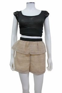 BCBGeneration Bcbg Generation Sparkle Dress Shorts Beige