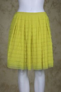 BCBGMAXAZRIA Bcbg Max Azria Allegra Womens Skirt Yellow