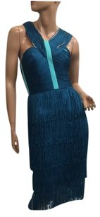 BCBGMAXAZRIA Bcbg Nataley Fringe Dress
