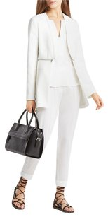 BCBGMAXAZRIA Blazer Zipper Off White Jacket