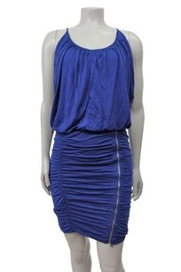 BCBGMAXAZRIA Doris Sleeveless Blouson In Depth Dress