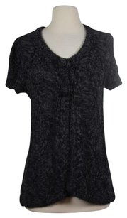 BCBGMAXAZRIA Womens Cardigan Cotton Knit Sweater