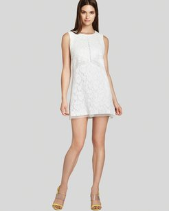 BCBGMAXAZRIA short dress Lace Shift Combo on Tradesy