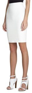 BCBGMAXAZRIA Skirt White/Slightly Off-White