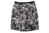 BCBGMAXAZRIA Bcbg Max Azria Straight Skirt Black Gray White