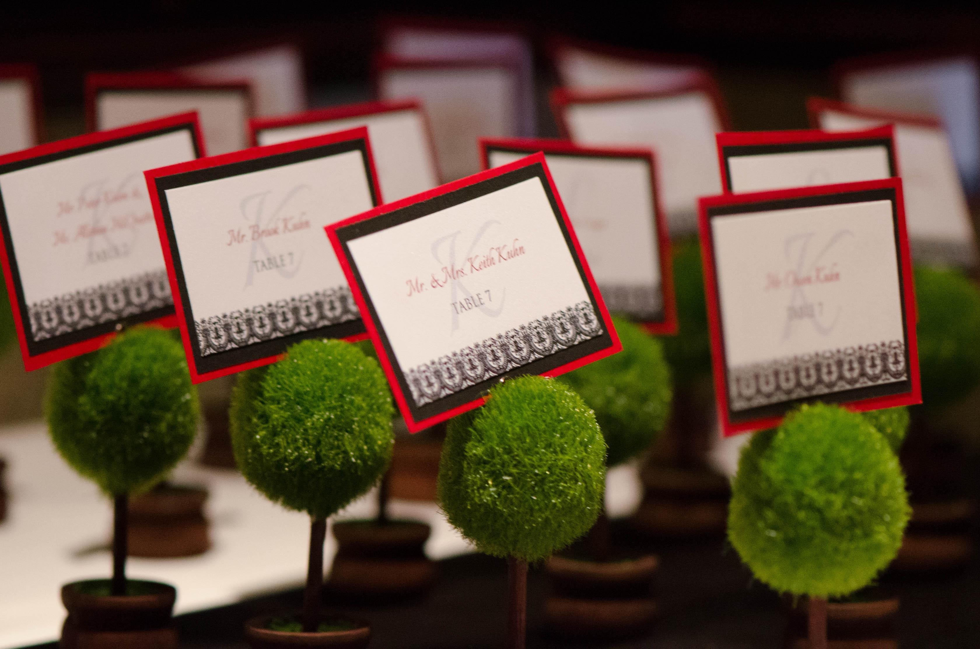 Beaucoup Green Topiary Place Card Holder Wedding Favors Tradesy