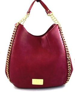bebe Usa Colette Tote in Red