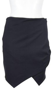 bebe Womens Straight Skirt Black