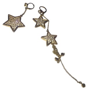 Betsey Johnson Betsey Johnson Star Earrings in Gold