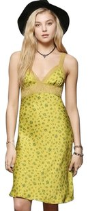 Betsey Johnson short dress Yellow Motif on Tradesy
