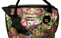 Betsey Johnson. SALE 10% off this weekend. Satchel in MULTI FLOWER PATTERN