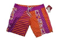 Billabong Nordsstrom 1 Unisex Board Shorts orange & white