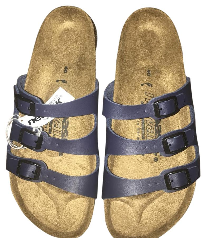 Birkenstock Blue (40) Sandals Size US 10 Regular Regular 10 (M, B) 23d5ad