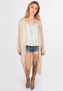 Bishop + Young Lace Trim Blush Jacket