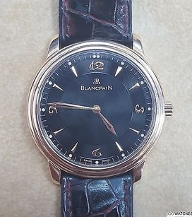 Blancpain Mens Blancpain Limited Edition Mechanical Watch