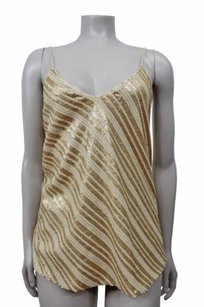 Blaque Label Sequin Top gold