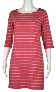 Boden Striped Above Knee 34 Sleeve Casual Sheath Dress