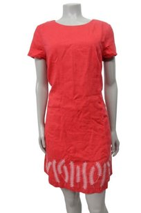 Boden short dress Coral Pink Stitch Detail on Tradesy