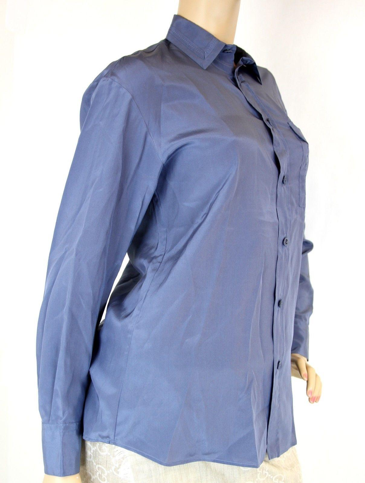 Bottega Veneta Long Sleeve Button-Up Top Discount Countdown Package Clearance Outlet Clearance Fashionable Yv3rXXJxN9