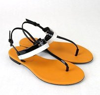 Bottega Veneta Patent Leather Multi-Color Sandals