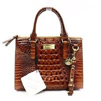 Brahmin Satchel in Browns