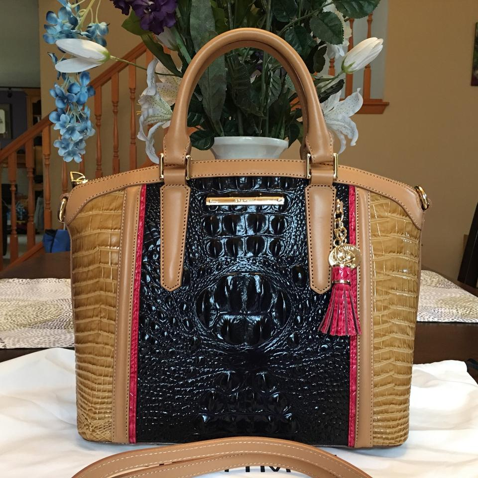Color Ink Medium So Satchel Avondale Nice Tri Handbag Duxbury Brahmin wABXxHfnx