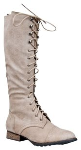 Breckelle's Changeto35 Closed-toe Outlaw13ice-7.5 Beige Boots