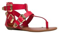 Breckelle's Red Sandals