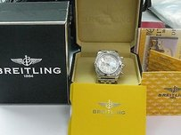 Breitling Breitling Chronograph Mother Of Pearl Dial Watch Box A691