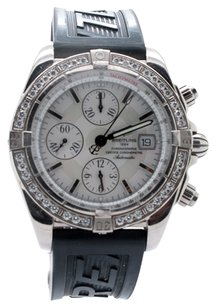 Breitling Breitling Chronomat Evolution LE 031/100 J13356 White Gold Original Diamond Men's Watch